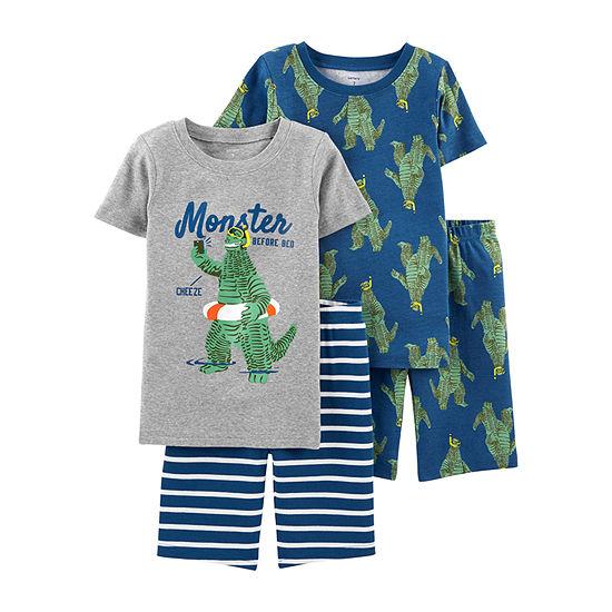 Carter's 4-pc. Pajama Set Preschool / Big Kid Boys