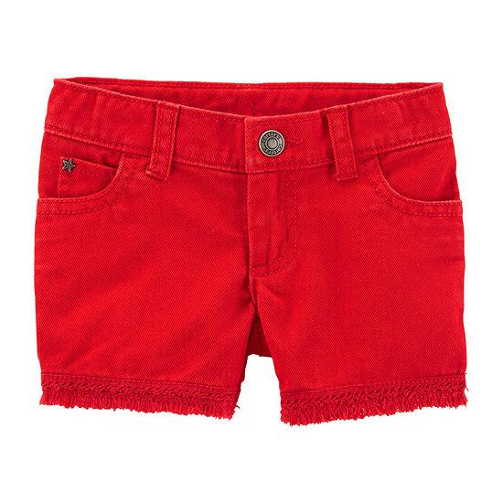 Carter's Girls Denim Short - Toddler