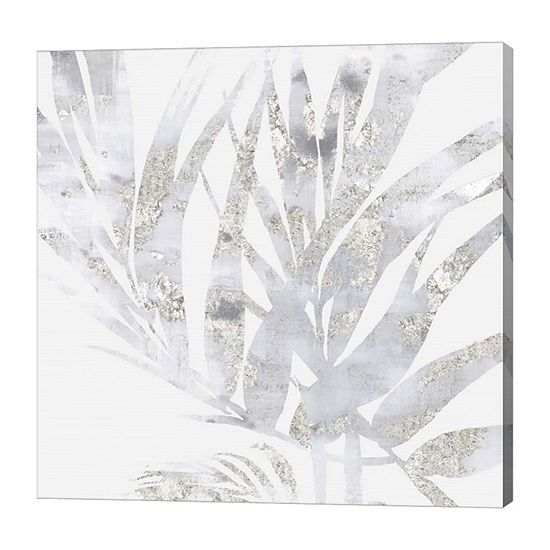 Metaverse Art Faded Leaves I Canvas Art