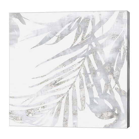 Metaverse Art Faded Leaves II Canvas Art
