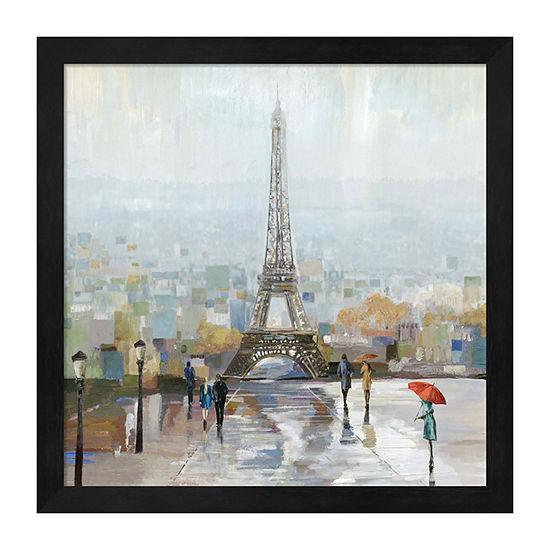 Metaverse Art Paris Framed Wall Art