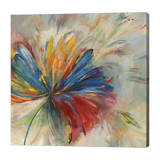Metaverse Art Passion Flower Canvas Art