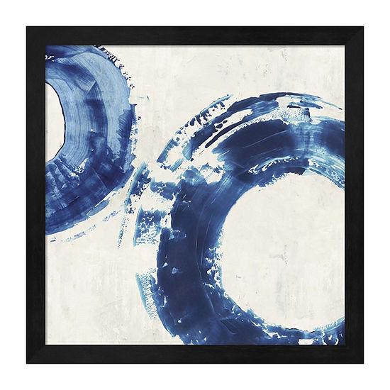 Metaverse Art Ring Stroke II Framed Wall Art