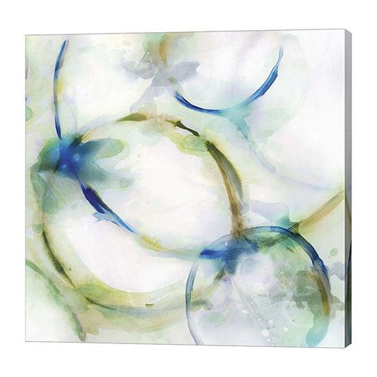 Metaverse Art Rings III Canvas Art