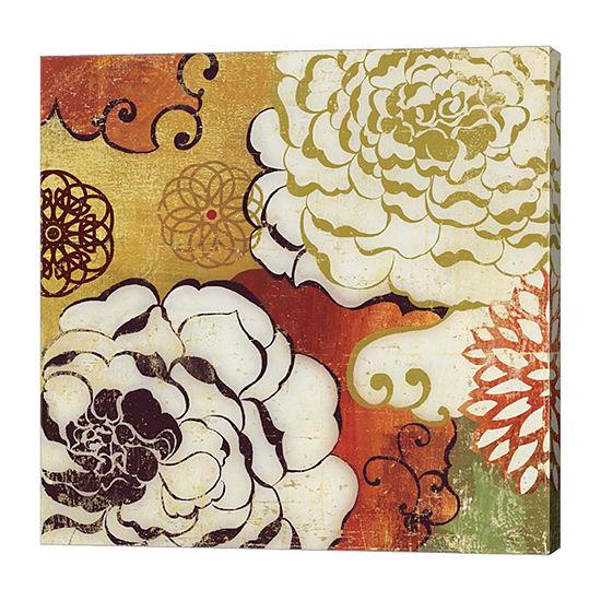 Metaverse Art Silk Embers Canvas Art