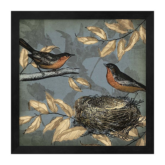 Metaverse Art Songbird Fable II Framed Wall Art