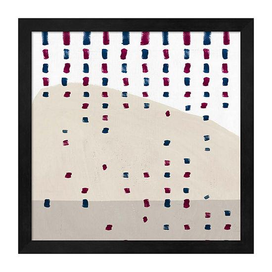 Metaverse Art Sound of Spring Rain Framed Wall Art