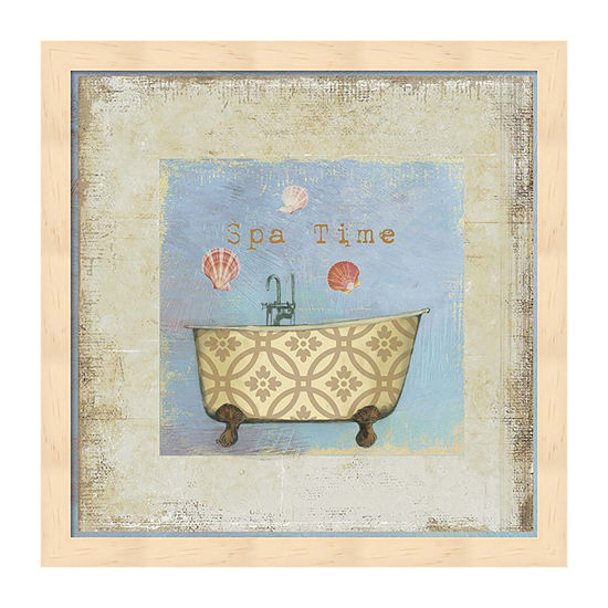 Metaverse Art Spa Time Framed Wall Art