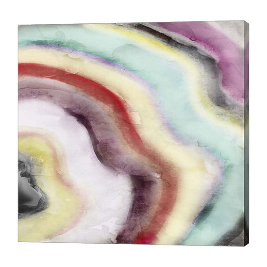 Metaverse Art Geode Canvas Art