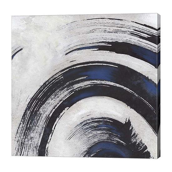 Metaverse Art Stroke II Canvas Art