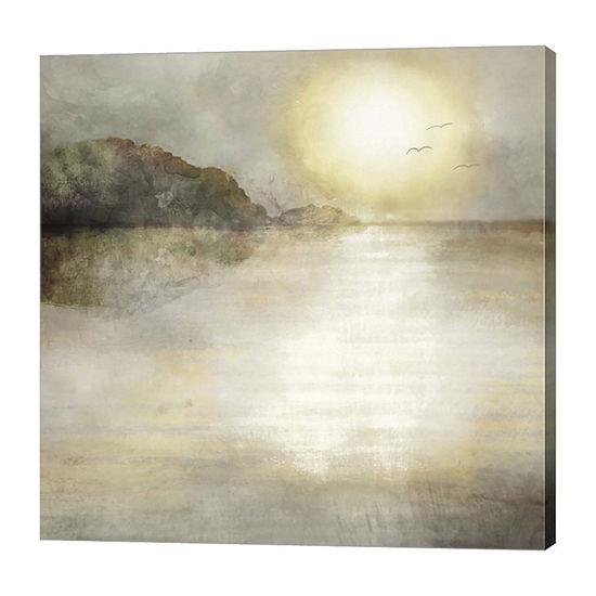 Metaverse Art Sunset Canvas Art