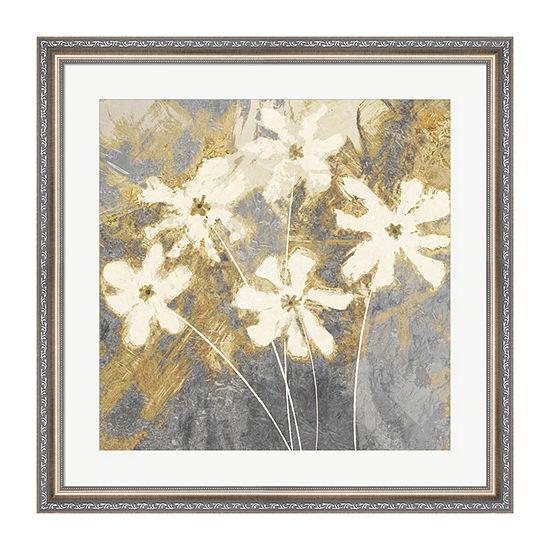 Metaverse Art Golden II Framed Wall Art