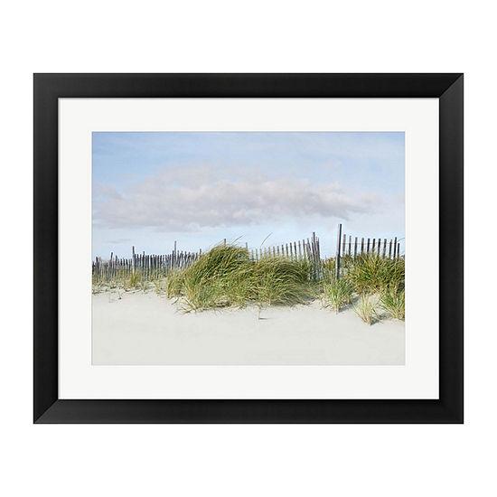Metaverse Art Beachscape Iv Framed Wall Art