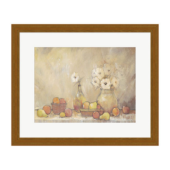 Metaverse Art Minimalist Still Life Study I Framed Wall Art