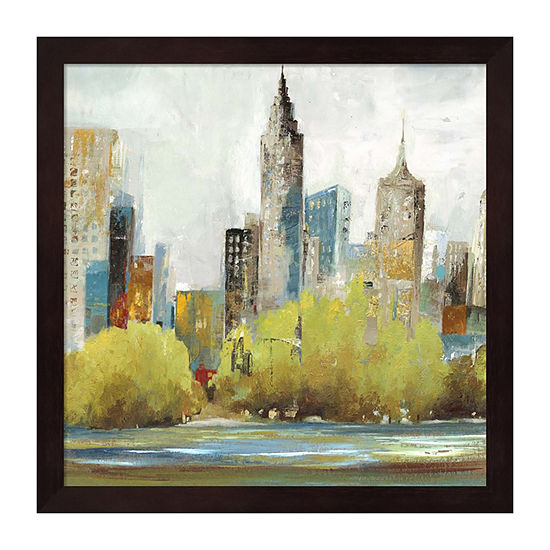 Metaverse Art Hudson Ferry II Framed Wall Art