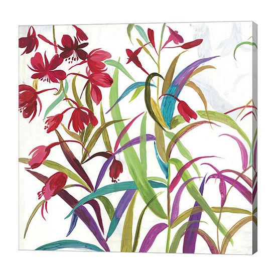 Metaverse Art Tropical I Canvas Art