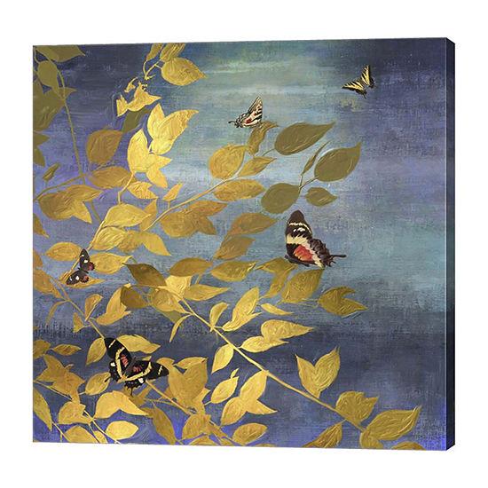 Metaverse Art Meadow View Canvas Art