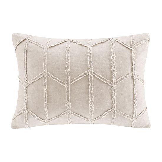 Harbor House Frayed Rectangular Throw Pillow