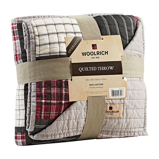 Woolrich Tulsa Throw Not Applicable