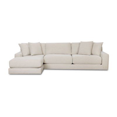 Fabric Possibilities Ponderosa 2-Pc Track-Arm Sectional