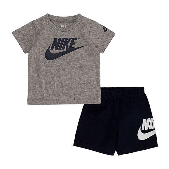 Nike Baby Boys 2-pc. Short Set