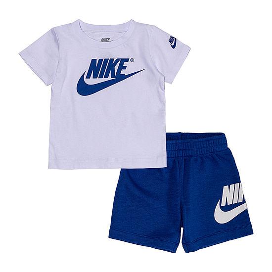 63077321 Nike 2-pc. Short Set Boys - JCPenney