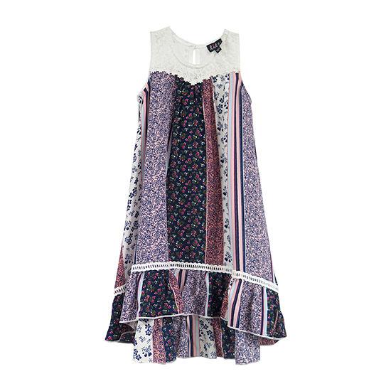 Lilt Girls Sleeveless A-Line Dress - Preschool / Big Kid