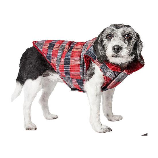 Pet Life ® 'Scotty' Tartan Classical Plaided Insulated Dog Coat Jacket