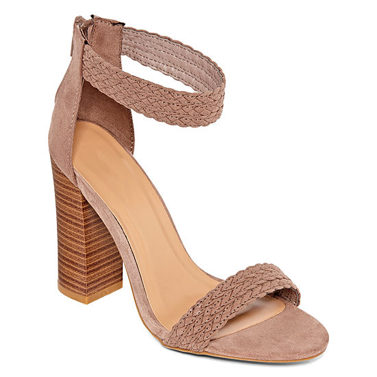 Bamboo Womens Faith 55 Heeled Sandals