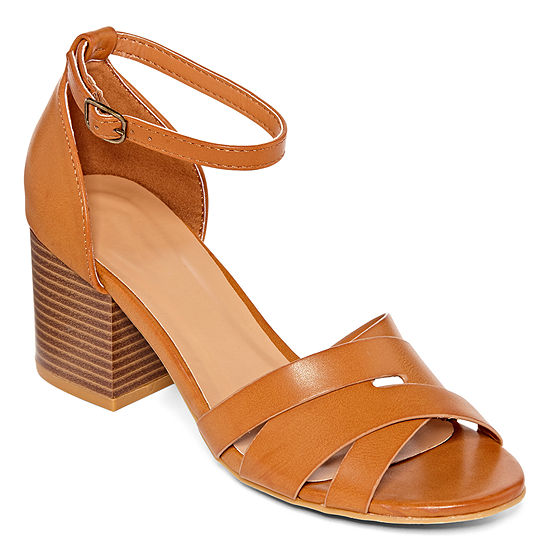 Bamboo Womens Premium 84s Heeled Sandals