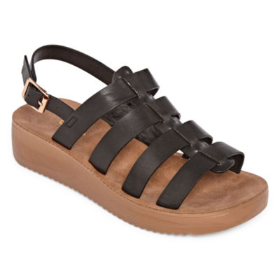 Bamboo Womens Core 04 Adjustable Strap Flat Sandals