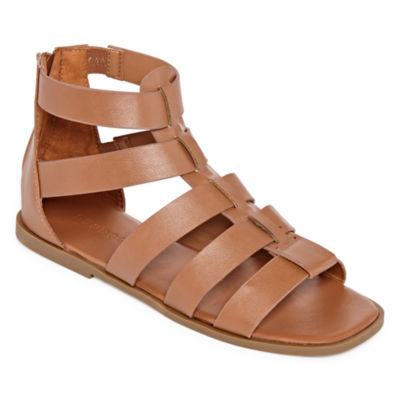 Bamboo Womens Delighted 15 Gladiator Sandals