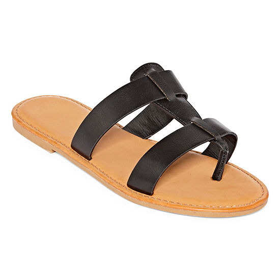 Bamboo Womens Shoreline 11 Flat Sandals