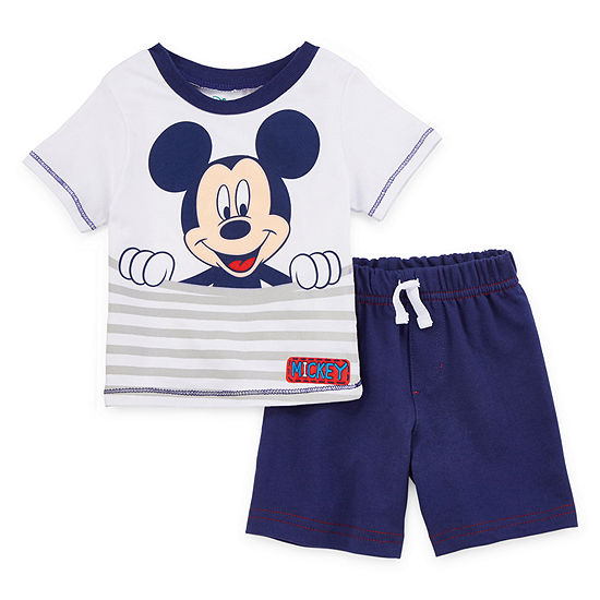 Disney 2-pc. Short Set Baby Boys