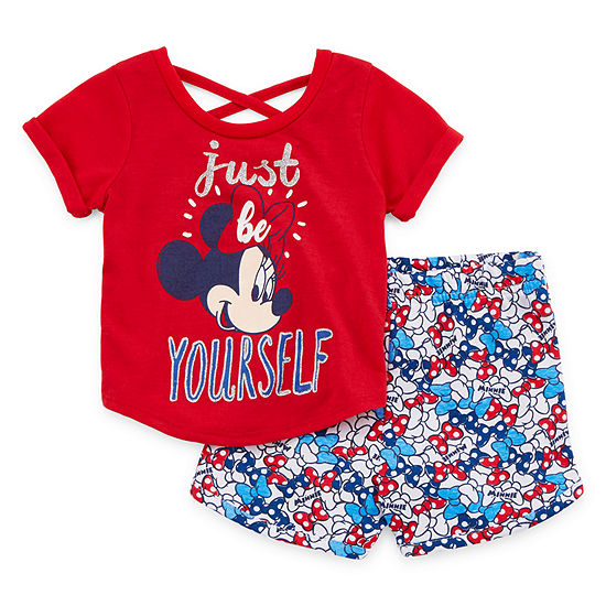 Disney 2-pc. Short Set Baby Girls