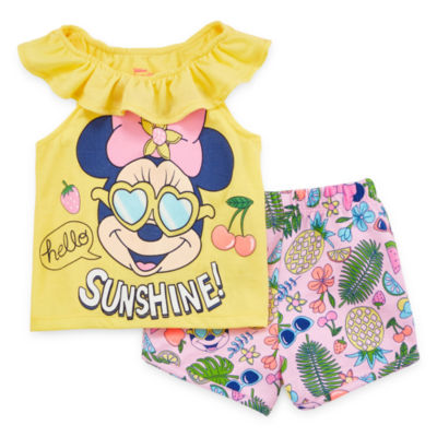 Disney 2-pc. Short Set Girls