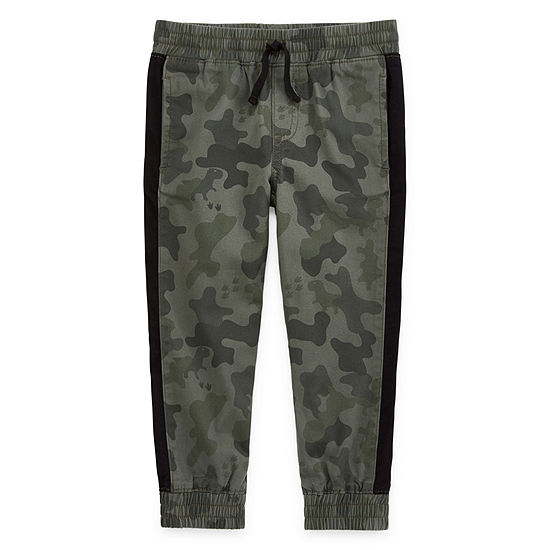 Okie Dokie Boys Cuffed Jogger Pant Toddler