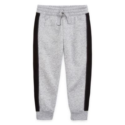 Okie Dokie Boys Cuffed Fleece Jogger Pant - Toddler