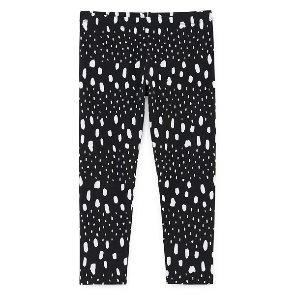 Okie Dokie Girls Printed Legging - Toddler