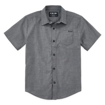Zoo York Boys Short Sleeve Button-Front Shirt