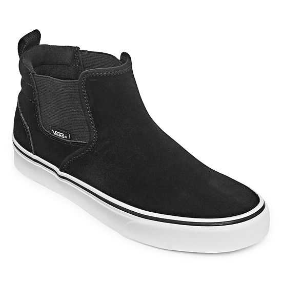 Vans Asher Mid Womens Skate Shoes Lace-up