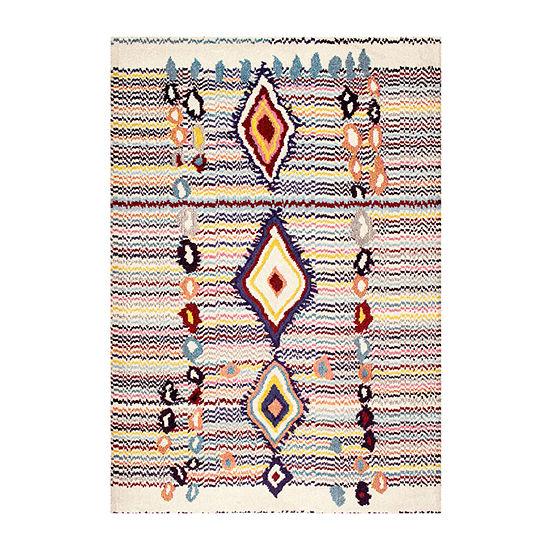nuLoom Moroccan Motley Rectangular Rug