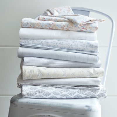 Linden Street Vintage Wash Cotton Sheet Set