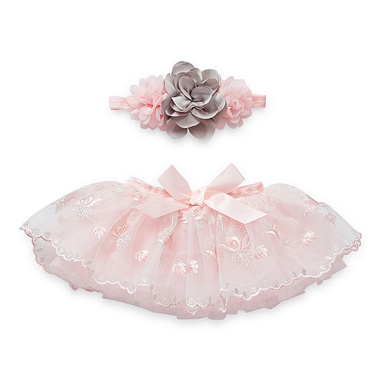 So Adorable 0-6 Months Tutu Baby Girls 2-pc. Baby Gift Set