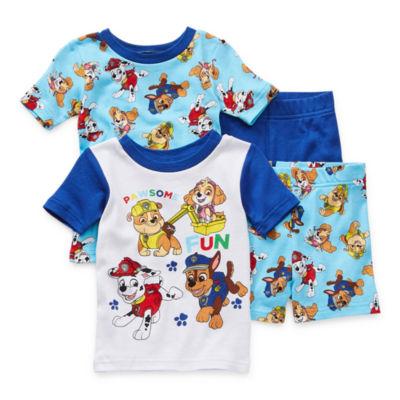 Toddler Boys 4-pc. Paw Patrol Shorts Pajama Set