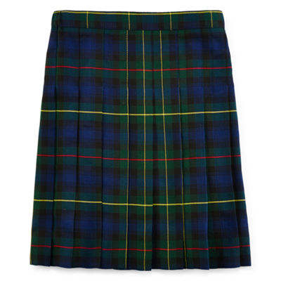 IZOD® Pleated Plaid Skirt - Girls 7-16