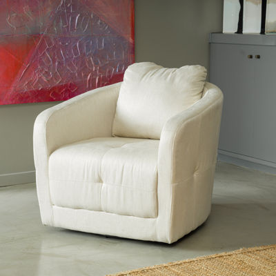 Carrie Fabric Swivel Chair