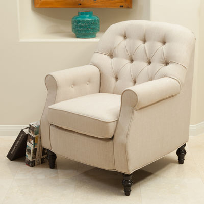 Heather Fabric Club Chair