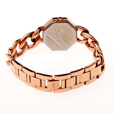 Bertha Womens Ethel Stone-Dial Swiss Rose Gold Bracelet Watchbthbr5803