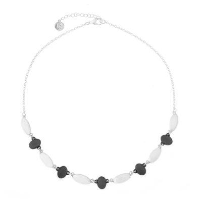 Liz Claiborne® Two-Tone Collar Necklace